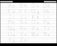 abc tracing sheet alphabet tracing free printable worksheets worksheetfun