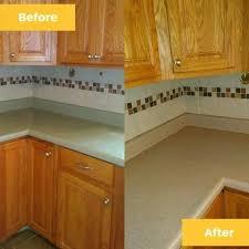 restoring corian countertops city refinishing before and after examples sanding corian countertop repair
