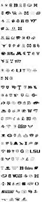 collage fonts free college collage fonts all free fonts