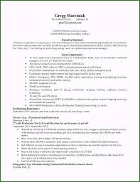 Production Supervisor Resume Examples Specialized Production