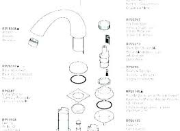 delta 1400 series trim kit monitor shower faucet replacement parts wont turn off tub single handle brushed nickel