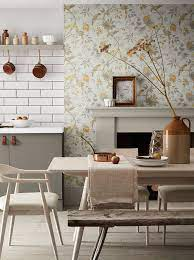 Kitchen wallpaper design ideas: 15 ...