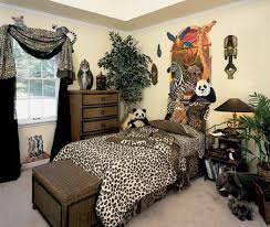 african safari jungle bedroom decor