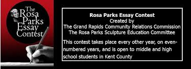 rosa parks essay contest three prizes are awarded for three individual age groups