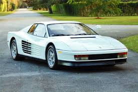 Every used car for sale comes with a free carfax report. 1986 Ferrari Testarossa Miami Vice Car