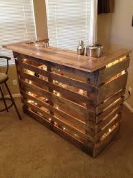 diy wood bar. Diy Wooden Pallet Bar Sitez Co Throughout Homemade Decor 19 Wood