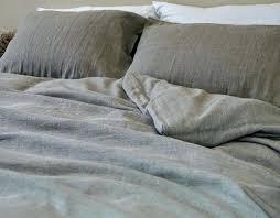 image 0 washed linen duvet cover vintage nz natural in dark shade