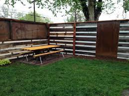 corrugated fence corrugated metal fence luxury metal fence made using old corrugated metal roofing gardens fences corrugated fence