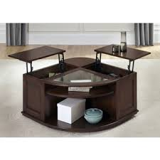 Wallace Dark Toffee Lift Top Cocktail Table Great Pictures