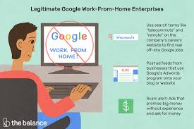Are There Legitimate Google Work From Home Jobs?