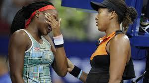 Naomi Osaka comforted <b>Coco</b> Gauff after U.S. Open match