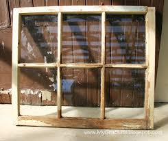 Old Window Frames My Gra 8 Life How To Make An Old Window Into A Picture Frame