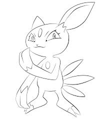 Pokemon Tweede Generatie Kleurplaten