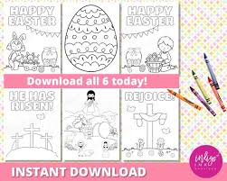 Easter Religious Coloring Sheets Easter Christian Coloring Page