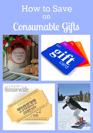 how to save on consumable gifts the happy housewife