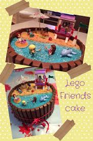 Lego friends birthdaycake More