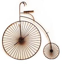 >20 best bicycle metal wall art 3d copper tone bicycle wall art unique metal wall art wall decor intended for