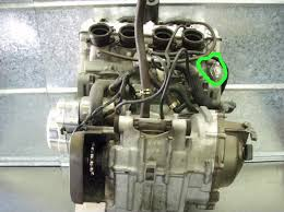 where is the cam chain tensioner on a zx9r kawiforums kawasaki posts 264