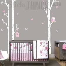small wall decals owl trees wall art sticker