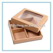 corrugated paper soap gift bo with dividers