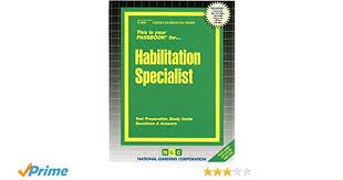 habilitation specialist habilitation specialist passbooks jack rudman 9780837329000
