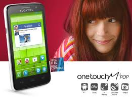 Alcatel one touch Mpop - Home