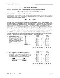 Energy Bar Charts Physics Energy Bar Charts Worksheet Physics Best Picture Of Chart