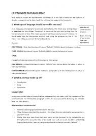 how to wright a essay nuvolexa how to write an english essay booklet howtowriteanenglishessaybooklet 120221045543 phpapp01 thumbn how to wright a essay