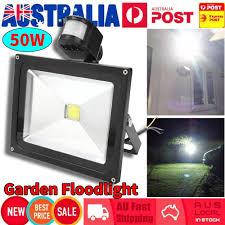 Best Outdoor Sensor Lights Australia 50w Led Solar Sensor Lights Light Motion Detection Security