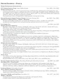federal resume resume for federal jobs districte15 info