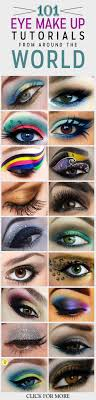 101 eyemakeup tutorials from around the world