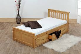 solid wood twin bed frame