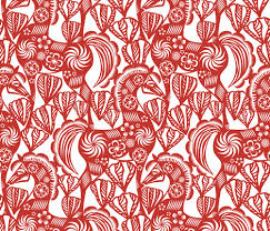 Paper Cutting Patterns Cool Chinese Paper Cutting Designs Spoonflower Design Challenge