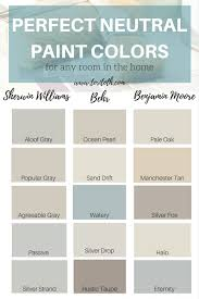 neutral paint colors choose color