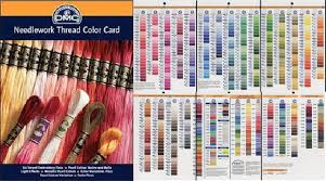 Dmc Color Chart And Numbers How To Color Match Floss To A Kit