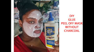 diy glue l off mask without charcoal