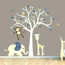 wall art for babies room wall art for baby rooms excellent monkey wall decal jungle animal