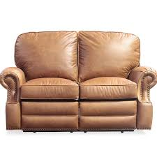 best high end barcalounger longhorn leather reclining loveseat
