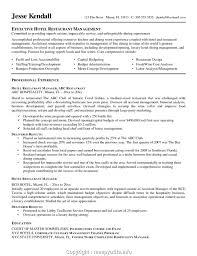 Make Restaurant Manager Resume Templates Restaurant Manager Resume