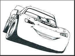lightening mcqueen coloring page