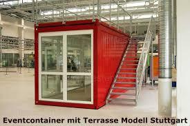 Konfigurieren sie ihre metalltreppe aus witterungsbeständigen und hochresistenten materialien. Eventcontainer 1 Messecontainer Fur Events Ausstellungen Showrooms Und Messen In Freigelanden Branding Konfigurator