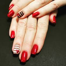 29+ Red Finger Nail Art designs , Ideas | Design Trends - Premium ...