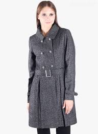 genuine womens winter jackets 2017 new owncraft grey solid long l g au