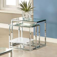 43 best nest of tables images on round glass nesting tables