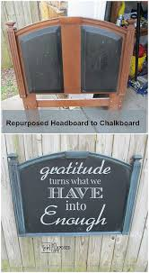chalkboard style decorative wall hanging