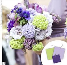 Purple and green wedding colors Color Palette Purple Lavender Light Green Brides Purple Wedding Color Combos