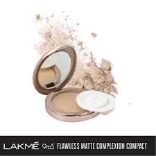 Lakmé 9to5 Flawless <b>Matte</b> Complexion <b>Compact</b> – Lakme India