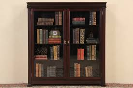 bookcases antique barrister bookcases with glass doors bookcase furniture mahogany adjule shelves sold ikea billy discontinued