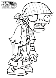 Plants Vs Zombies Coloring Pages As Well As Free Plants Vs Zombies