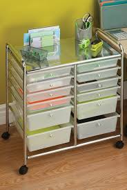 home office filing ideas. Honey-can-do 12 Drawer Chrome Studio Organizer Cart Home Office Filing Ideas I